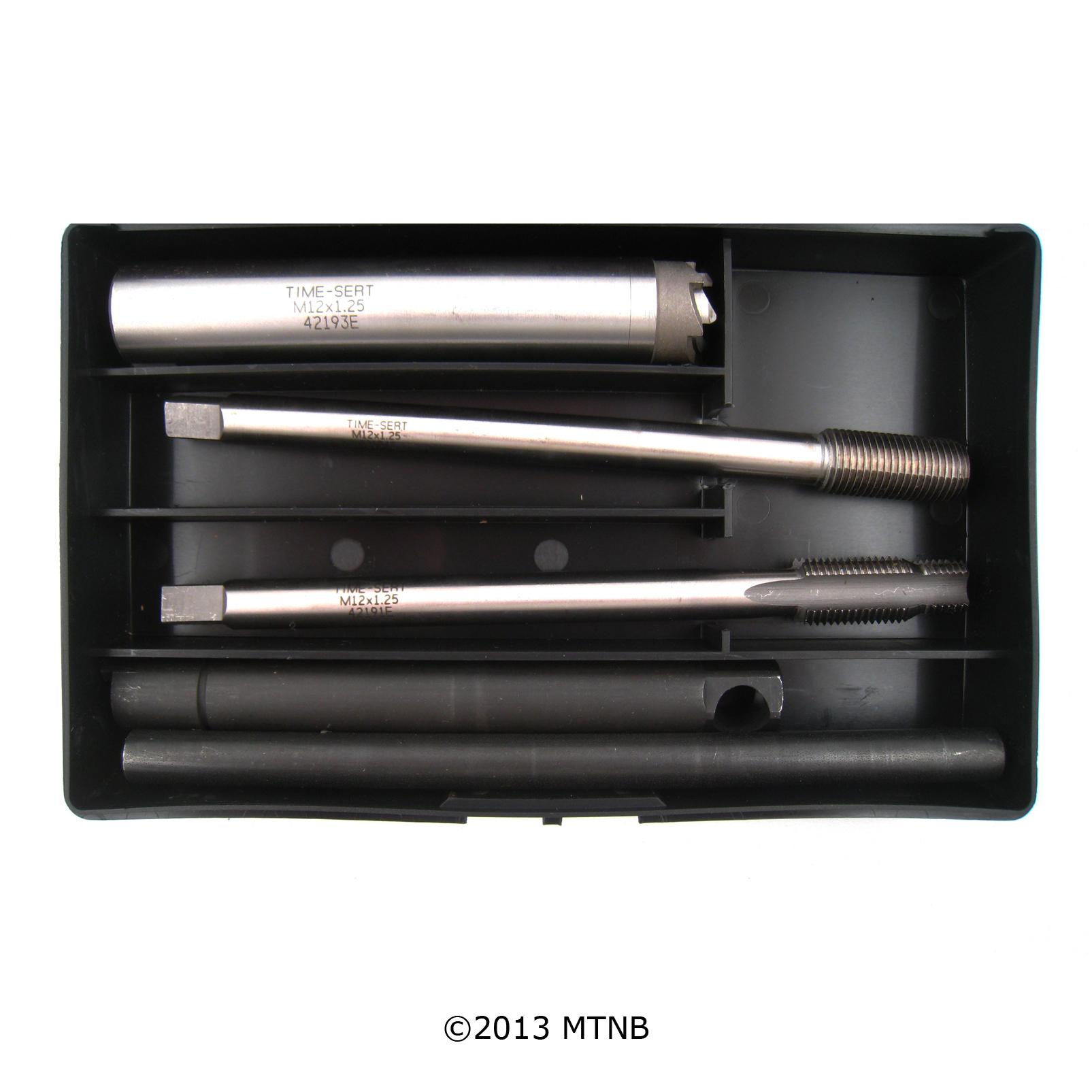 Time-Sert 4212E M12x1.25 Extended Metric Spark Plug Kit