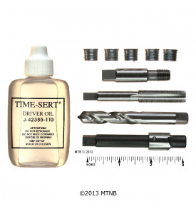 Time Sert 0127 - 1/8-27 Taper Pipe Thread Repair Kit