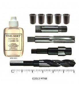 Time-Sert 0318S 3/8-18 Taper Pipe Repair Kit with Stainless Inserts