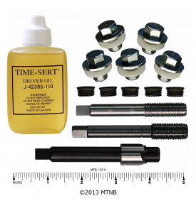 Time-Sert 0765 1/2-20 - 7/16-20 Ford Drain Pan Tin Thread Repair Kit