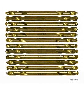 Norseman 95040 12 Pack 7/32 Magnum Super Premium Twin End Drill Bits
