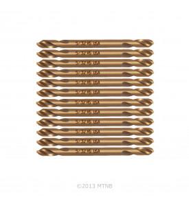 Norseman 95060 12 Pack 5/32 Magnum Super Premium Twin End Drill Bits