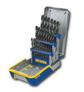 Irwin 3018005 29 Piece Black & Gold Drill Bit Set