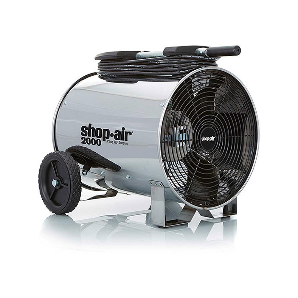 Portable Air Circulators : Shop vac in hp portable air circulator