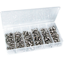 ATD 357 110 Piece SAE Grease Fitting Fastener Assortment