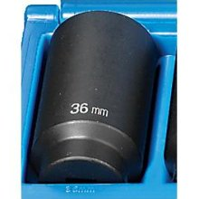 "1/2"" Drive 39mm Deep 12 Point Impact Socket GREY PNEUMATIC 2139M"
